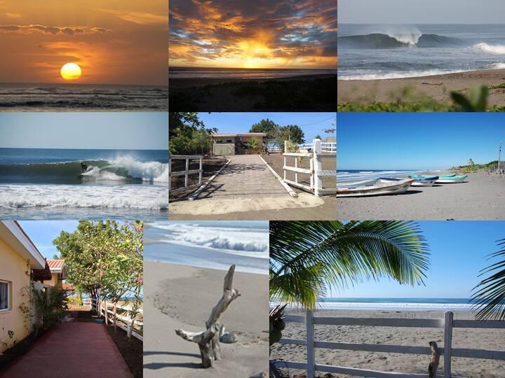 Villa Vadasz - Beachfront Paradise