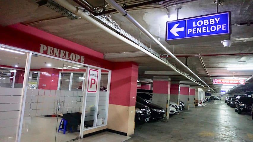 Basement Parking at basement B2