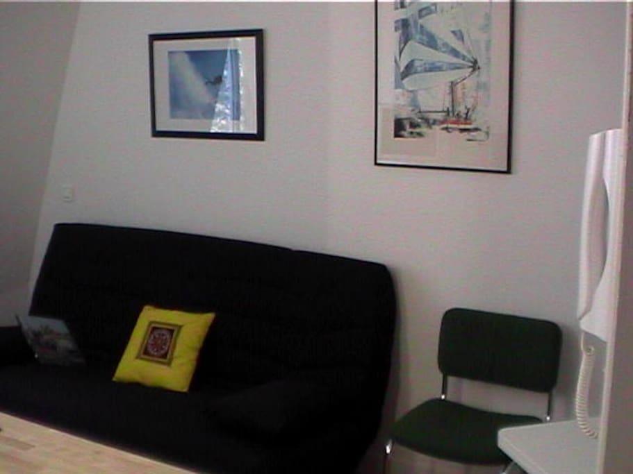 Lovely studio in paris montparnasse appartamenti in affitto a parigi le d - Airbnb paris montparnasse ...