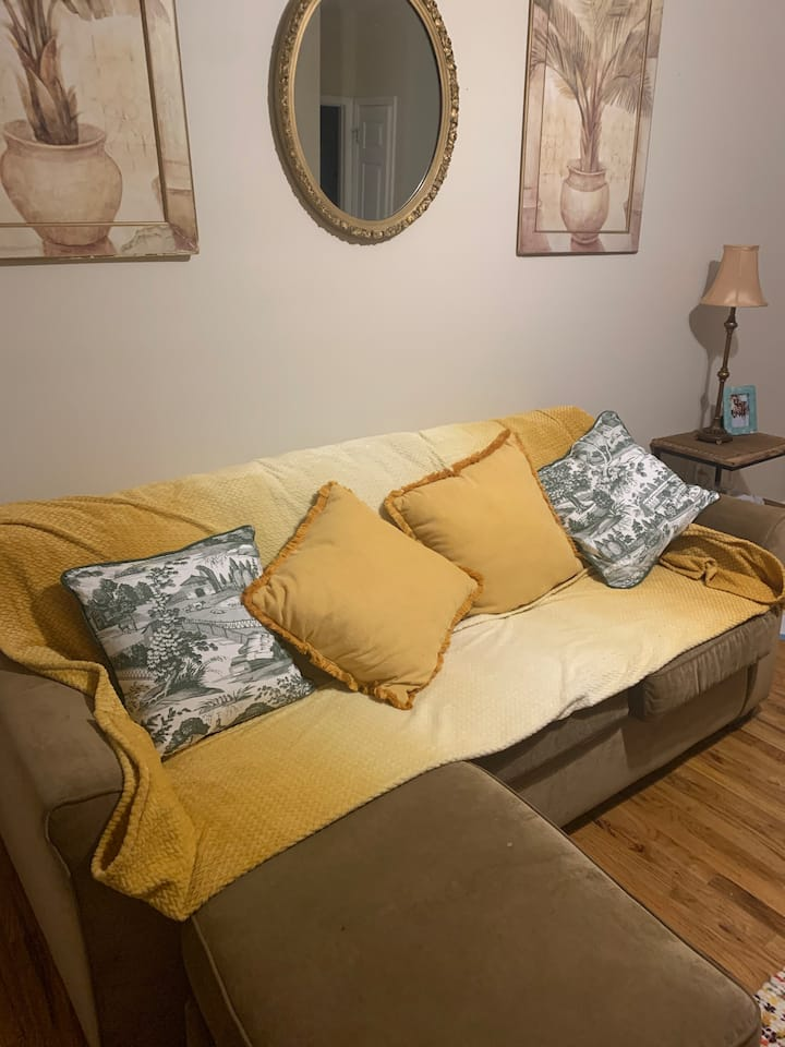 Marietta 15min from DT clean comfy 🥰 Sofa or Bed