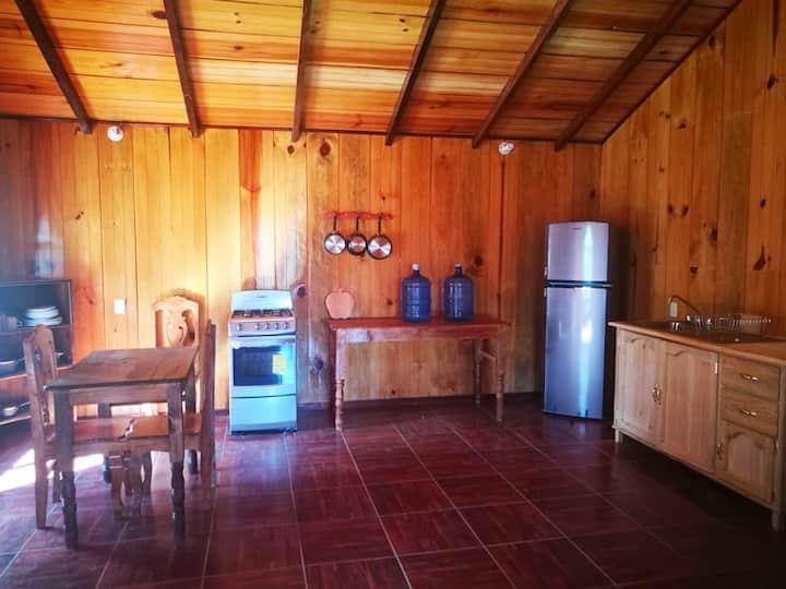Cabaña en San Jose del Pacifico, Oaxaca, México