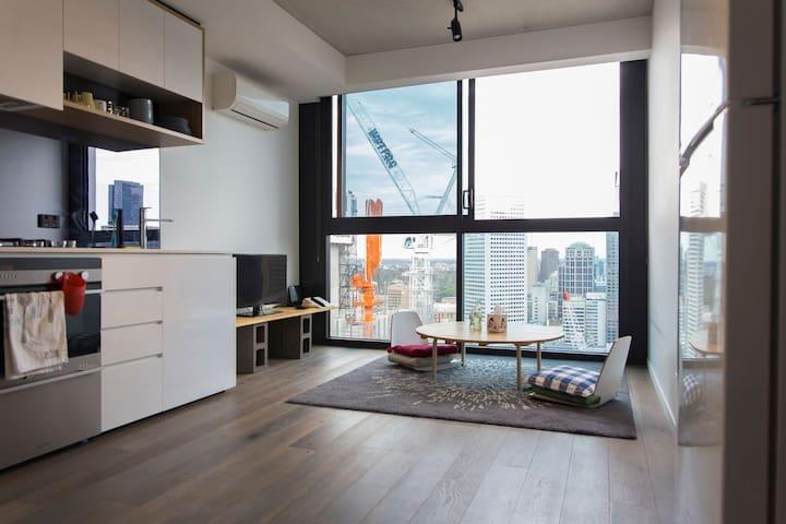 Japanese Master Bedroom in City Center