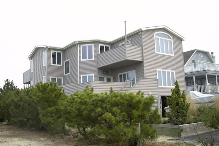 Bay view, walk to ocean, private! - Fenwick Island - Casa