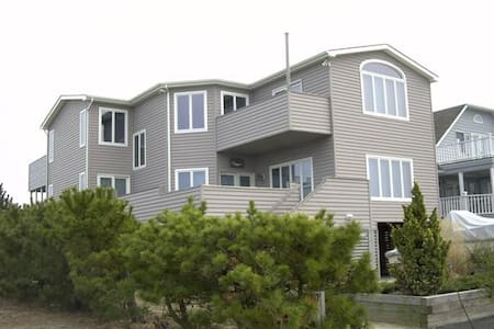 Bay view, walk to ocean, private! - Fenwick Island - Casa