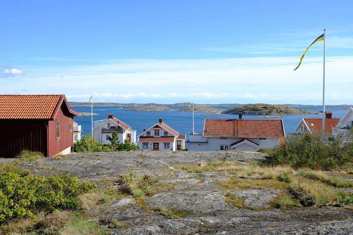 Kvarnstugan: dubbele woning bij Zweedse westkust