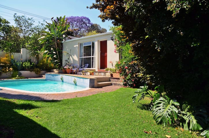 The Sunbird Cottage in Parkhurst, Johannesburg