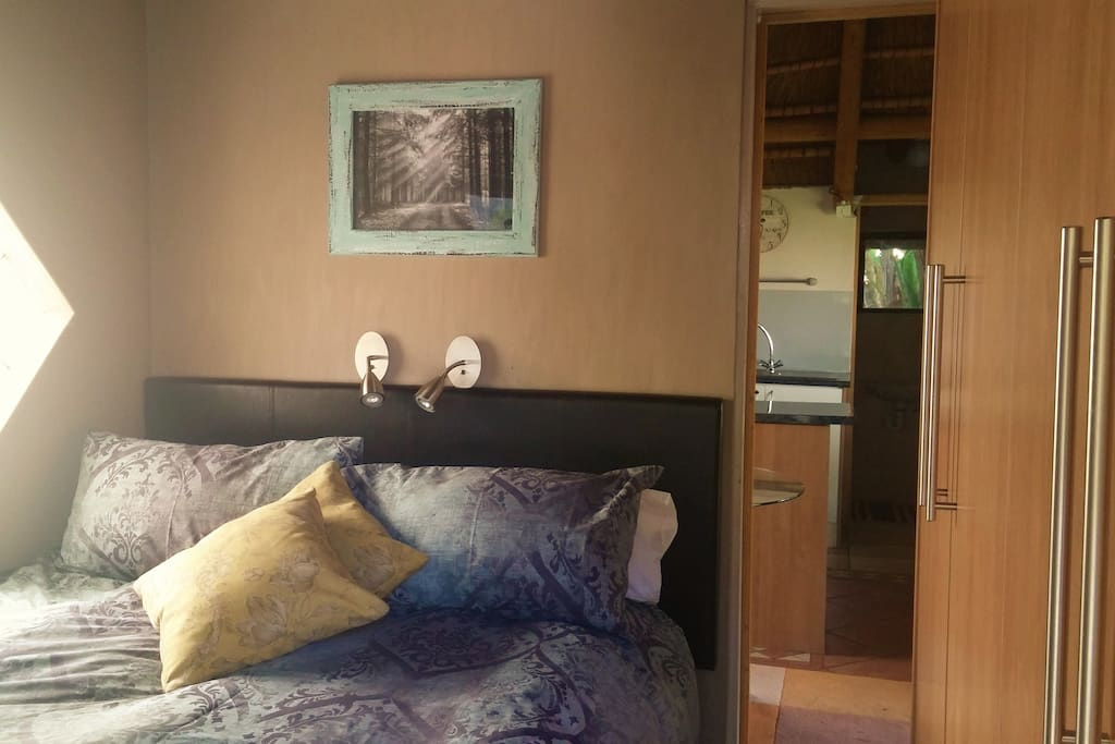 Double bedroom with built in wardrobes