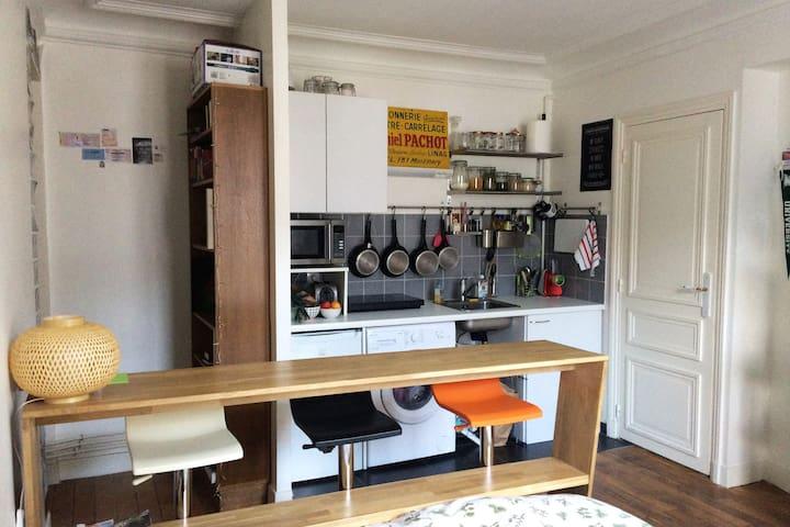 Quiet and cozy apartment - Paris - Apartment