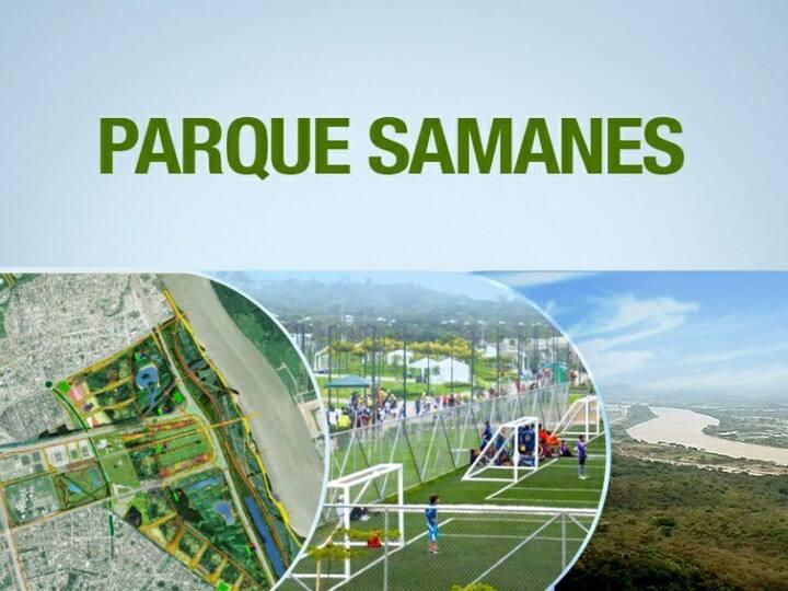 Minisuite C1 Full Amoblada Alborada Parque Samanes