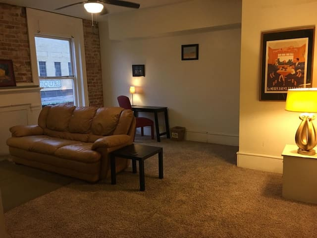 HUGE 1 BEDROOM IN HISTORIC BUILDING