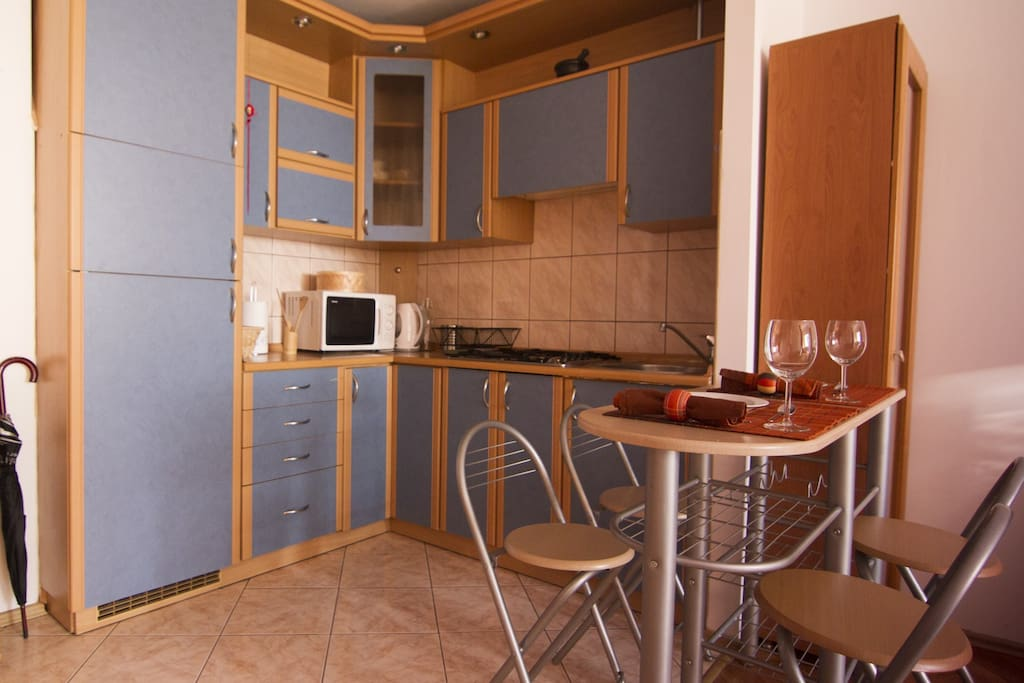 Kitchen - fridge, microwave, toaster etc.