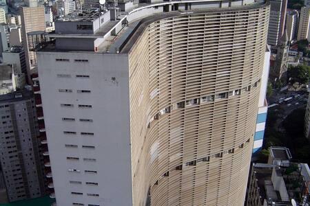 Edifício Copan, último andar - São Paulo
