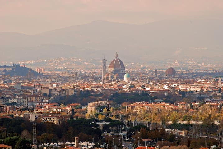 """Gorgeous views over Florence amazing tranquil surrounds this small castle is relaxing and peaceful. Close enough to Florence for day trips""  Bec*****"