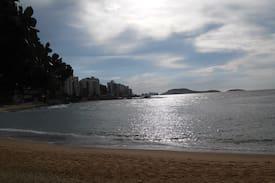 belíssima vista para o mar