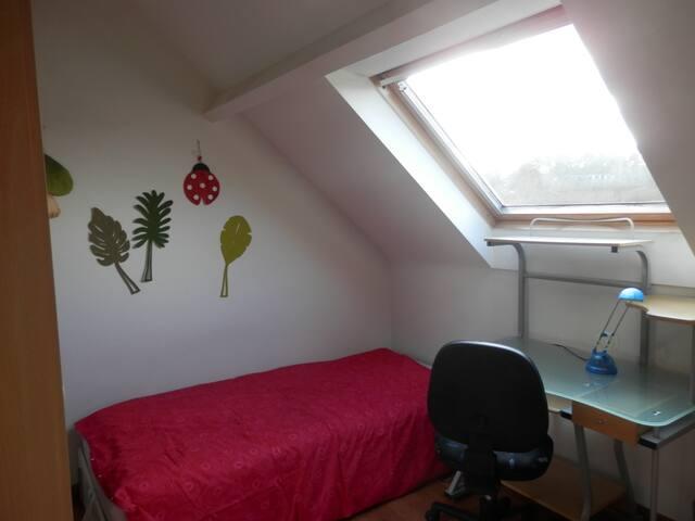 Chambre avec vue sur le lac - Ottignies-Louvain-la-Neuve - House