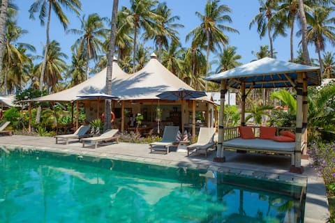 Gili Tenda - Glamping Twin with Pool View#5