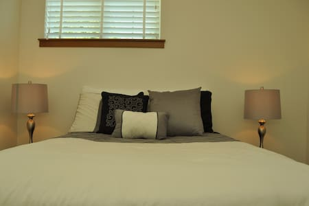 Plush Bedroom in Contemporary House - Lynnwood