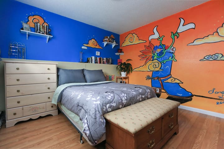Private room in midtown home (#3) - Anchorage - Huis