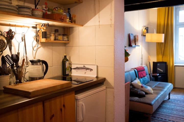 Cosy studio apartment in lively Ehrenfeld