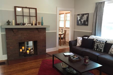 Beautiful Bungalow in St. Elmo - チャタヌーガ(Chattanooga)