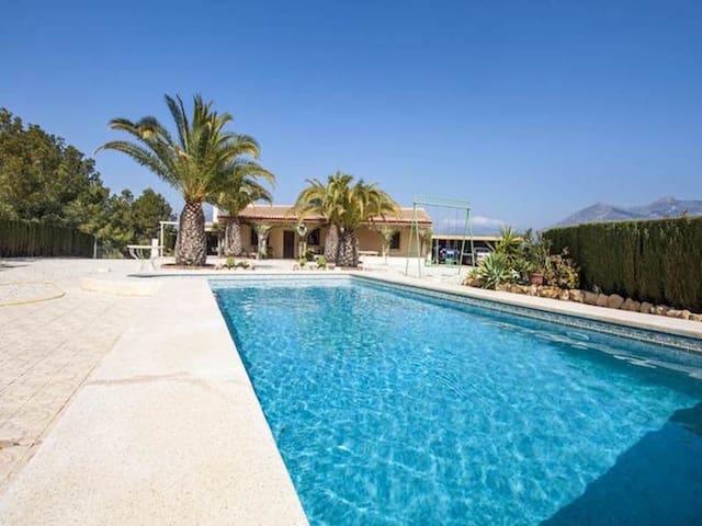 Finca Rustica con piscina privada