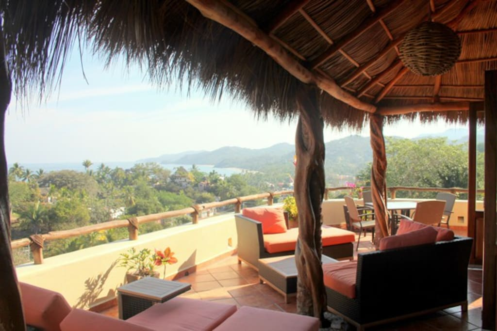 Enjoy 360 views from the main floor of the casa