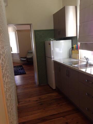 Apartment 2 galley kitchen