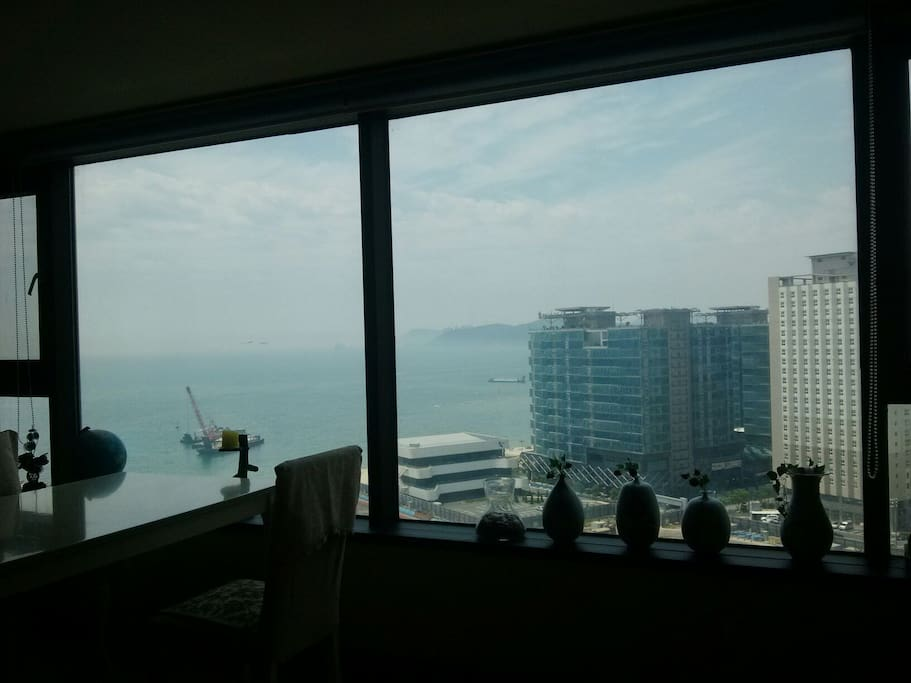 fine view from the living room