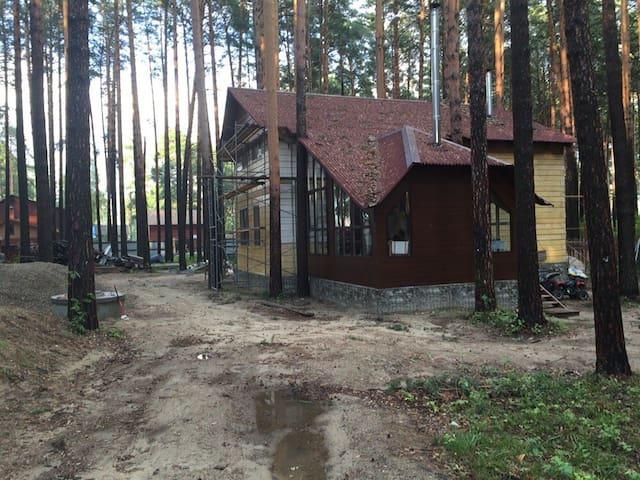 Деревянный дом в реликтовом бору