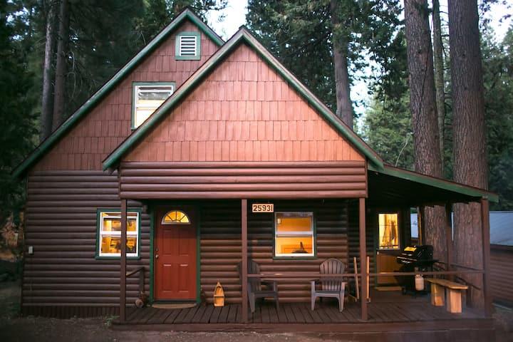 Cabin in the Sierras