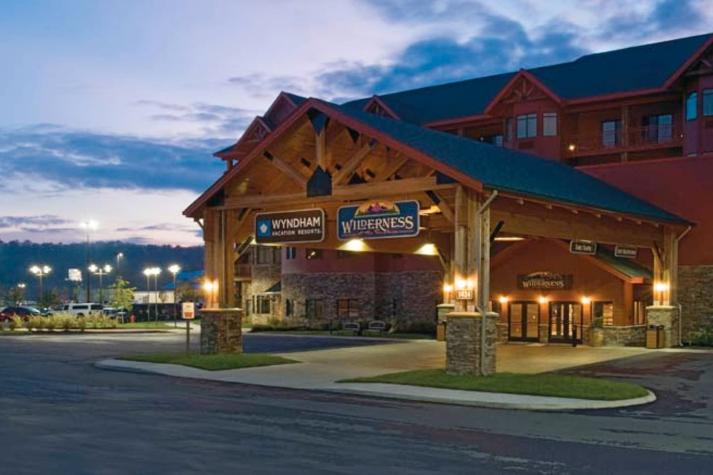 Sevierville Convention Center located on property!