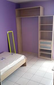Chambre 1 sympathique aux Abymes - Apartment