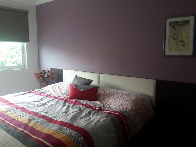 Master bedroom, king bed