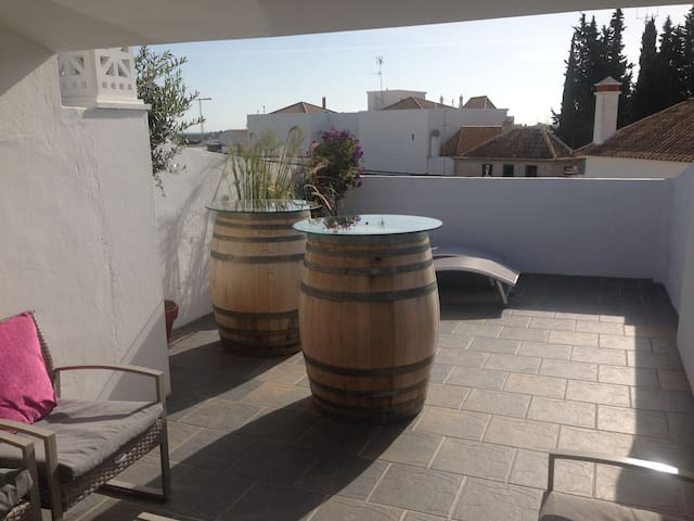 Townhouse with nice rooftop terrace - Tavira - Stadswoning