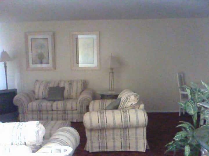 Quiet Large Bright Home
