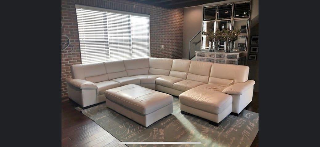 Large Sectional Sofa, University of Dayton