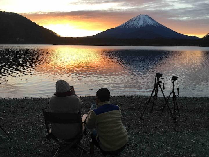 民宿 やすらぎ荘 富士山の見える8号室