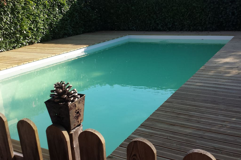 brand new secured private swimming pool