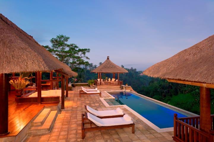 Villa Santai Ubud Luxury Rental - Tampaksiring