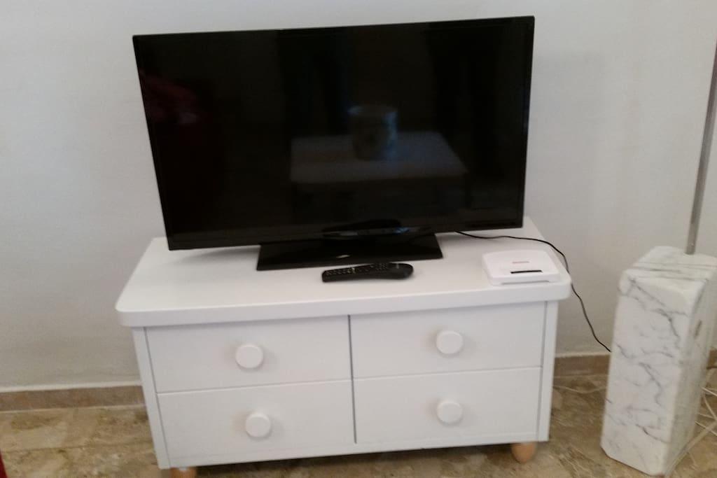 La TV LCD con l'accesso Wi-Fi