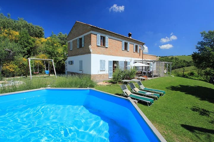 Lovely Cottege with Pool - Serrungarina - Maison