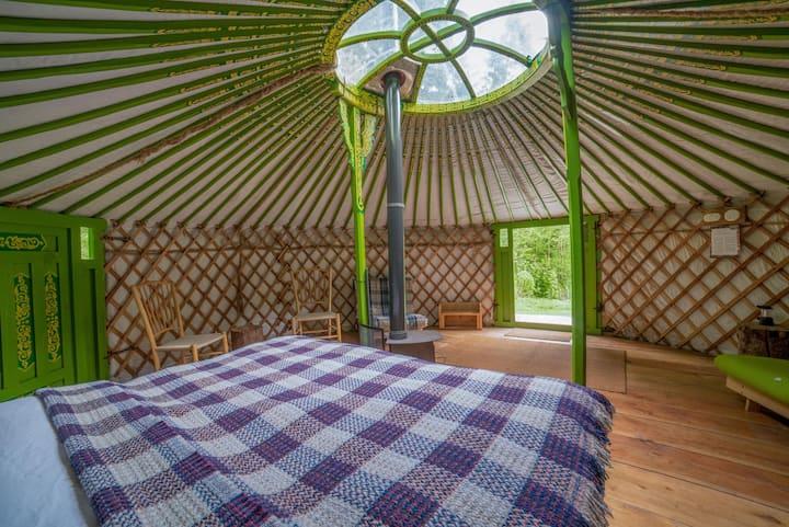 Eilian - Luxury Yurt Holiday in Wales