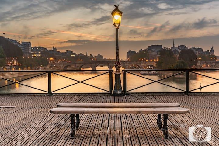 Coeur de Paris, Authentique avec Terrasse : )