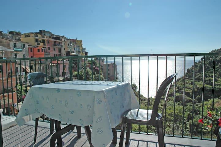 Cinqueterre App. Pele 2 Vista Mare - Corniglia - Lägenhet