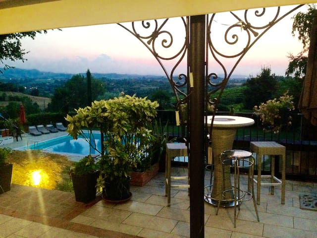 relax vista piscina