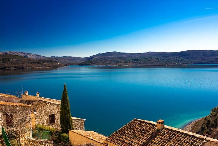 """La Calade du Lac""  4pers. vue lac proche restos."