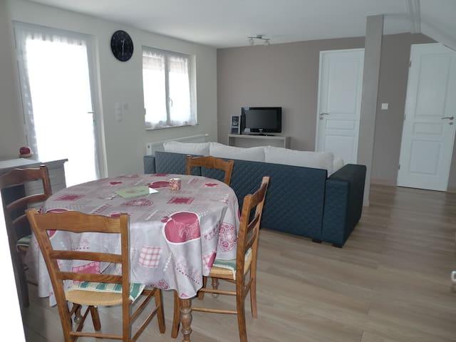 Apt spacieux et confortable  87M2 - Ettendorf - Appartement