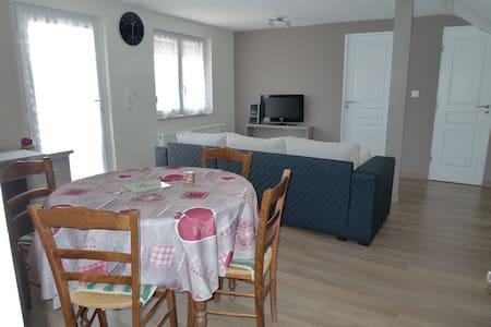 Apt spacieux et confortable  87M2 - Ettendorf - Apartmen