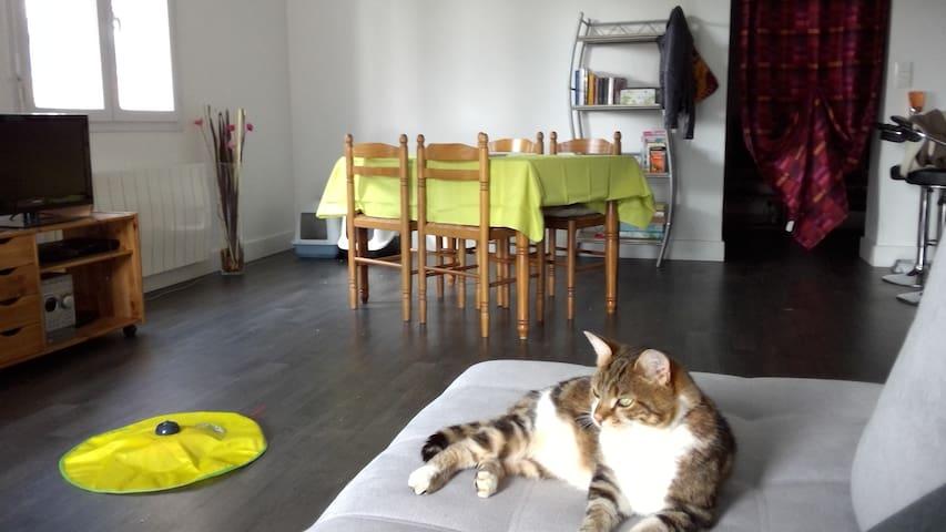 Chambre au calme avec petit déjeuner compris