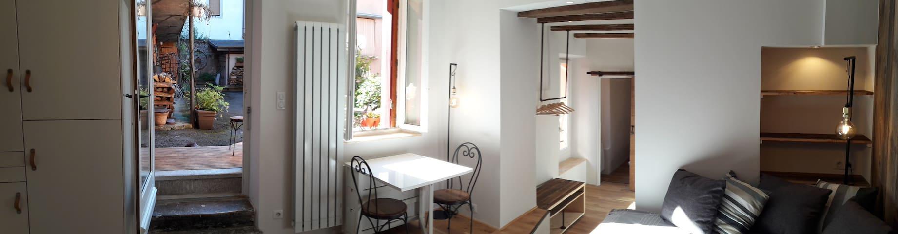 Appartement de Charme avec cour Annecy Centre Lac